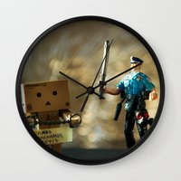 Busted Wall Clock