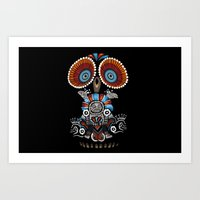 Mexican Owl Art Print