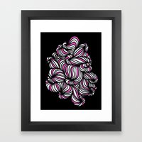 All over the place Framed Art Print