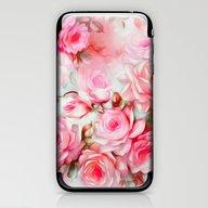Shabby Chic Pink iPhone & iPod Skin