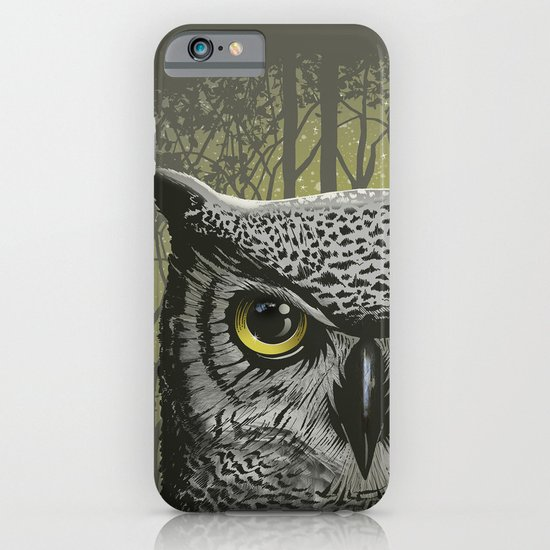 Moon Owl iPhone & iPod Case