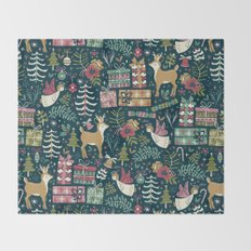 Christmas Joy Throw Blanket