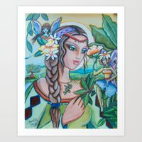 Into Fairy Land Art Print