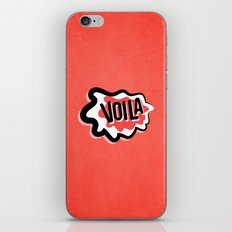 Voila iPhone & iPod Skin