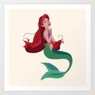 Ariel: Part Of Your Worl… Art Print