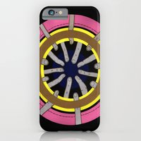 iPhone & iPod Case featuring radial blame III by rachel elizabeth duffin