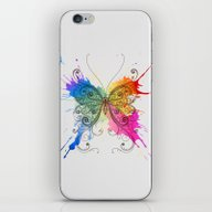 Butterfly Color Explosio… iPhone & iPod Skin