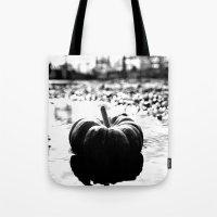 Power plant pumpkin Tote Bag