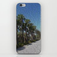 Infinite Palm Trees iPhone & iPod Skin
