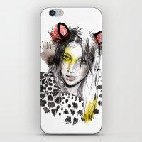 Bestia iPhone & iPod Skin