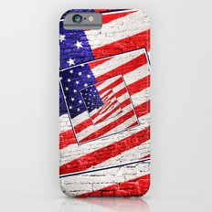 Patriotic American Flag Abstract Slim Case iPhone 6s