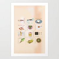 Japanese Food  Art Print