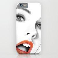 iPhone & iPod Case featuring Barbara Palvin by Joe Tin Illustration