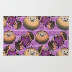 Hedgehog Playtime Rug