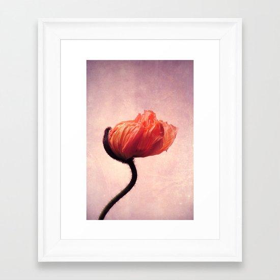 mettle Framed Art Print