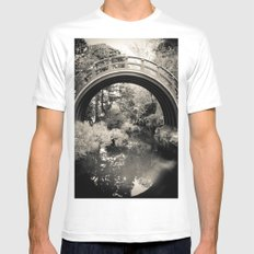 The Garden  Mens Fitted Tee White SMALL