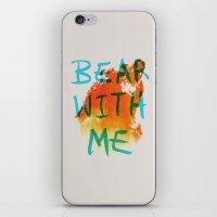 Bear With Me iPhone & iPod Skin