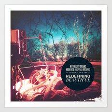Motion City Soundtrack - Point of Extinction Art Print