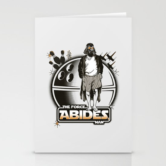 The Force Abides Stationery Card