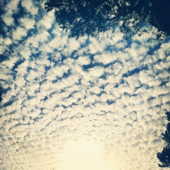 Clouds Effect Art Print