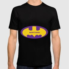 Bartman SMALL Black Mens Fitted Tee