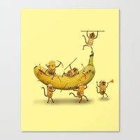 Monkeys Are Nuts! Canvas Print