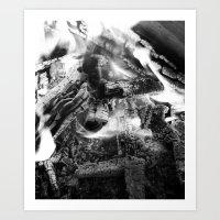 Mute Art Print