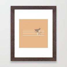 Photo Finish Framed Art Print