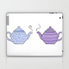 Patterned Teapots Laptop & iPad Skin