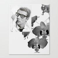 Yves Canvas Print