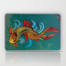 A tale of two fins. Laptop & iPad Skin