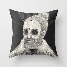 HOLLOWED MAN Throw Pillow