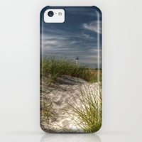 iPhone 5c Cases featuring Light Tower and Dunes by UtArt