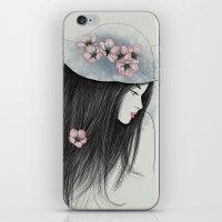 The Girl In The Garden iPhone & iPod Skin