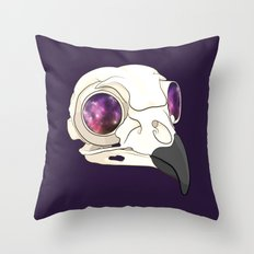 Owl Sees All Throw Pillow