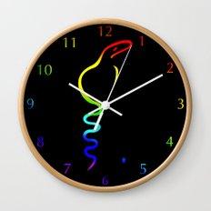Gay Dancing Cobra Wall Clock
