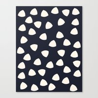 Pebble Decor Canvas Print