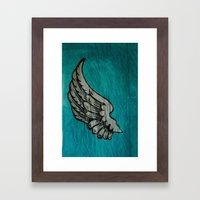 On A Wing And A Prayer Framed Art Print