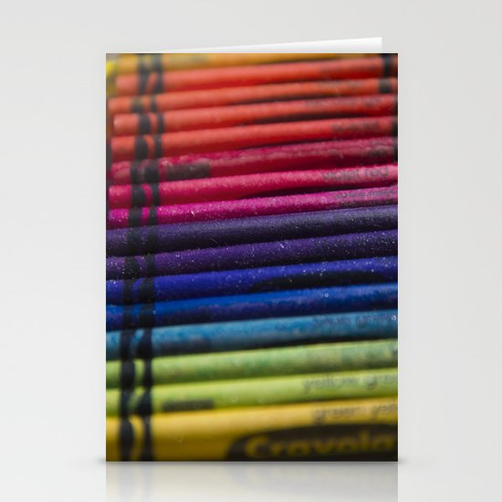 Crayons: Out of the Box! Stationery Card