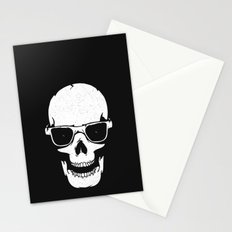 Skull in shades Stationery Cards