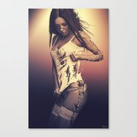 Fractured 01 Canvas Print