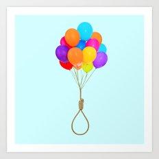 HAPPY SUICIDE Art Print
