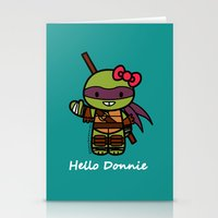 Hello Donnie Stationery Cards