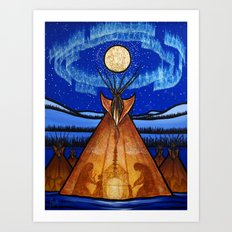 Returning Home Art Print