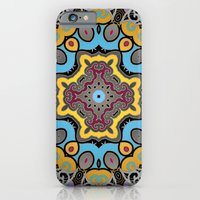iPhone & iPod Case featuring Soothing Mandala by Karma Cases