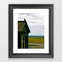 Mont Saint Michel #1 - A House Framed Art Print