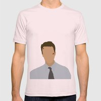 Edward Norton Fight Club Mens Fitted Tee Light Pink SMALL