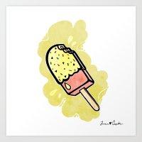 Ice Cream III Art Print