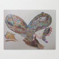 Give Flight Canvas Print