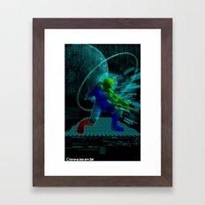 Halo Splash Art Framed Art Print
